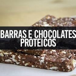 Barras e Chocolates Proteicos