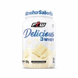 Delicious 3Whey Chocolate Branco 900g - FTW