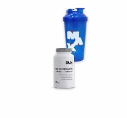 Multivitamínico Dux Nutrition + Coqueteleira MAx Titanium