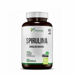 SPIRULINA 450MG (60 CAPS)