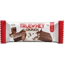 TRUE WHEY CRUNCH - CHOCOLATE COM AVELÃ
