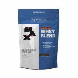 Whey Blend 1,8Kg - Nova Fórmula - Max Titanium Chocolate